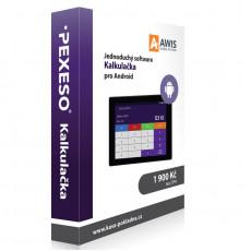 Pokladní systém PEXESO Kalkulačka
