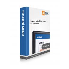 POLEDNÍ MENU - automatický export menu na web nebo Facebook